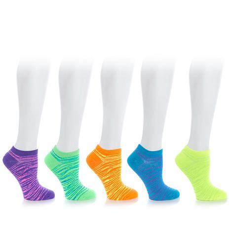 Curations Metallic Flecked 6-pack Socks