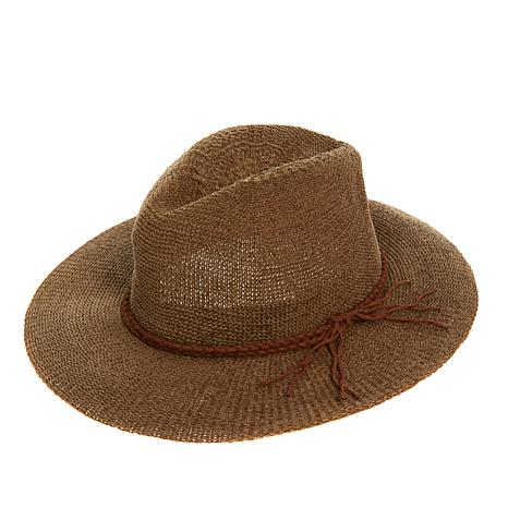 Curations Packable Wide-Brim Hat
