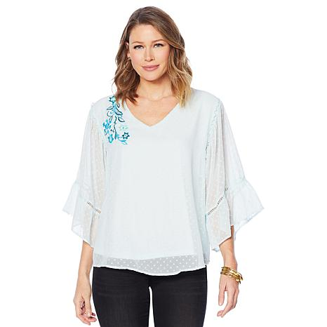 Curations Paisley Blouse