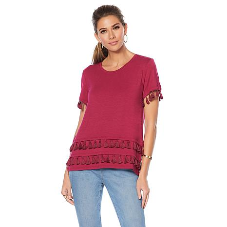 Curations Tassel T-Shirt