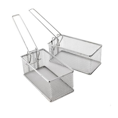 Curtis Stone 2-piece Stainless Steel Fry Basket Set