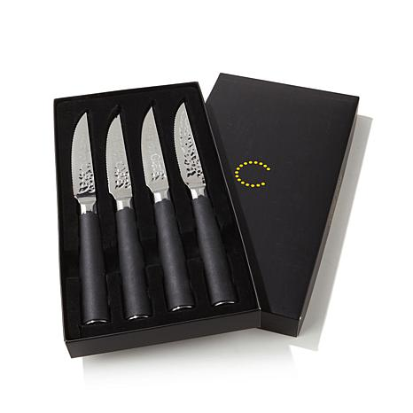 curtis stone samurai series set of 4 steak knives - 8078049   hsn