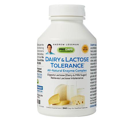 Dairy & Lactose Tolerance - 240 Capsules
