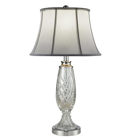 Dale Tiffany Claven Lead Crystal Table Lamp
