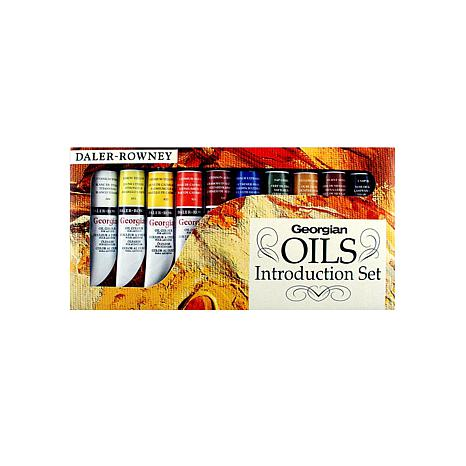 DALER-ROWNEY Introduction to Georgian Oil - Set of 10