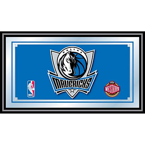 Dallas Mavericks NBA Framed Logo Mirror