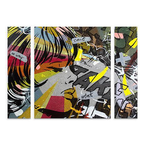 """Dan Monteavaro """"Take Away"""" Multi-Panel Art - 30"""" x 41"""""""