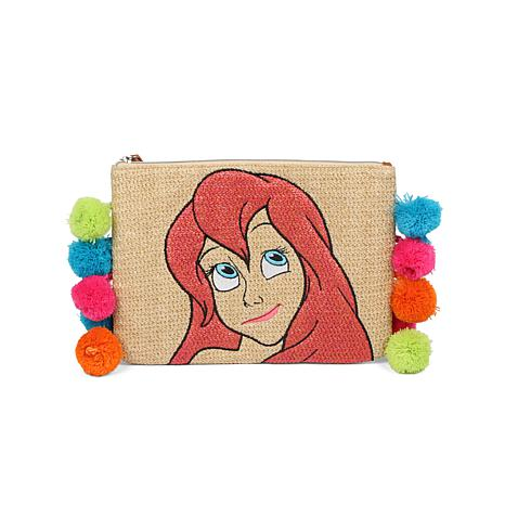 Danielle Nicole Disney's The Little Mermaid Ariel Straw Pouch
