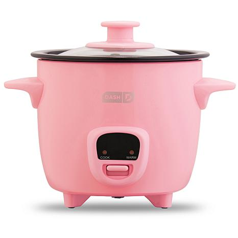 DASH 2 Cup Mini Rice Cooker with 14 Recipes