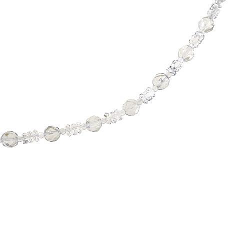 "Deb Guyot 88.25ctw Multicut Herkimer ""Diamond"" Quartz 36"" Necklace"