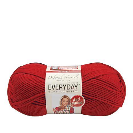 Deborah Norville Everyday Solid Yarn - Really Red