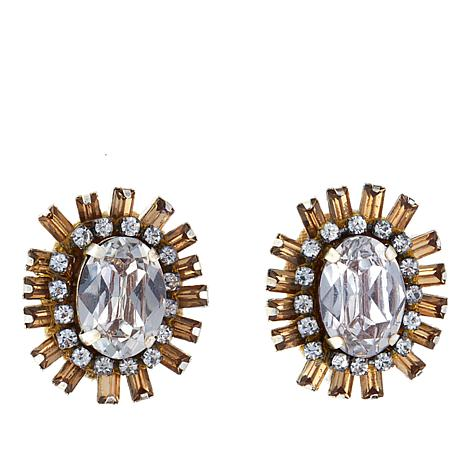 "deepa by Deepa Gurnani® ""Arie"" Spoke Stud Earrings"