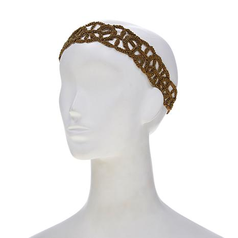 deepa by Deepa Gurnani® Beaded Woven Headband
