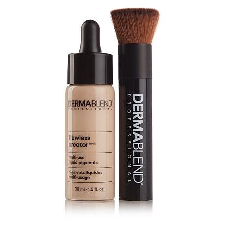 Dermablend Flawless Creator Foundation with Brush - Fair 0N