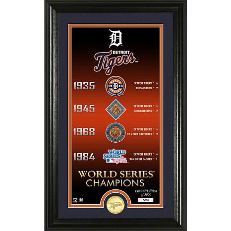 6676ddc62 Detroit Tigers Legacy Supreme Bronze Coin Photo Mint - 9123830