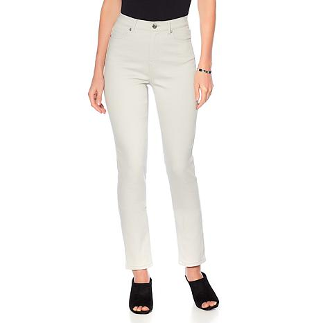 DG2 by Diane Gilman Classic Stretch Skinny Jean - Fashion Colors