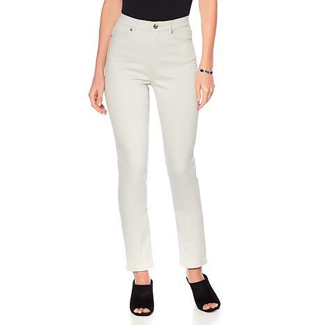 DG2 by Diane Gilman Classic Stretch Skinny Jean - Fashion Colors
