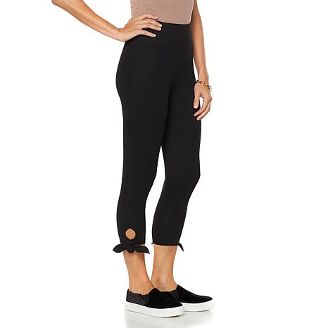 DG2 by Diane Gilman Side-Tie Capri Legging