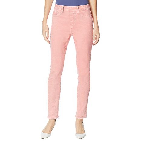 Dg2 By Diane Gilman Sorbet Denim Pull On Skinny Jean Fashion 9330356 Hsn