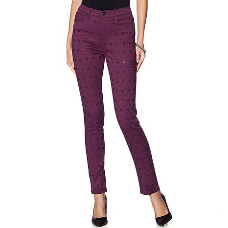 DG2 by Diane Gilman Virtual Stretch Novelty Skinny Jean - Fashion