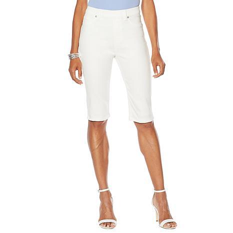 DG2 by Diane Gilman Virtual Stretch Pull-On Bermuda Short - Fashion