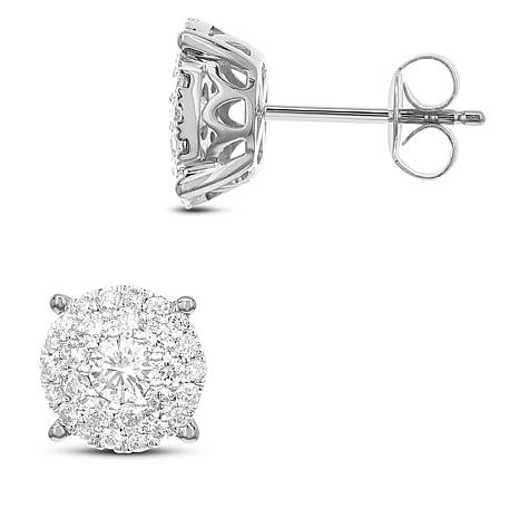 Diamond Couture 14K 0.75ctw Diamond Round Shape Studs