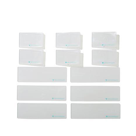 Diamond Press 12-Piece Blank Folder Refills
