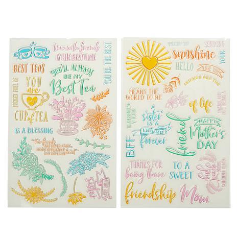 Diamond Press 40-piece Friendship Stamp Kit