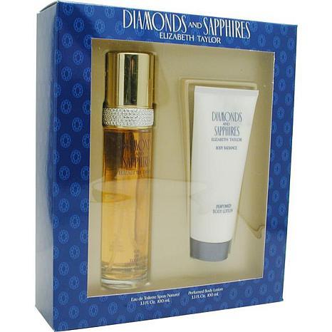 Diamonds & Sapphires - Set-edt Spray 3.3 Oz & Body Lotion 3.3 Oz