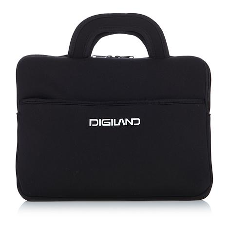 "DigiLand 10"" Portable DVD Player/Tablet Sleeve"