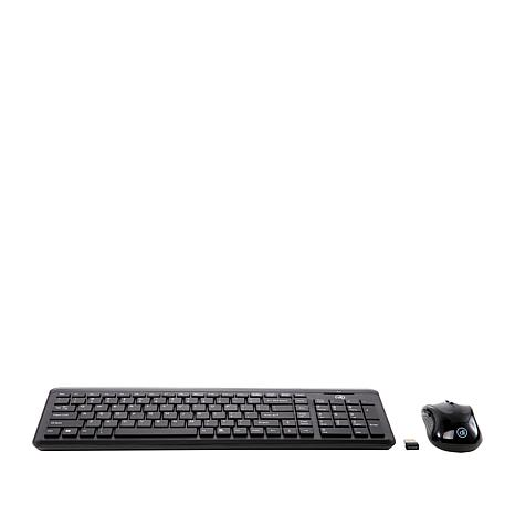 Digital Innovations Wireless Keyboard & EasyGlide Mouse