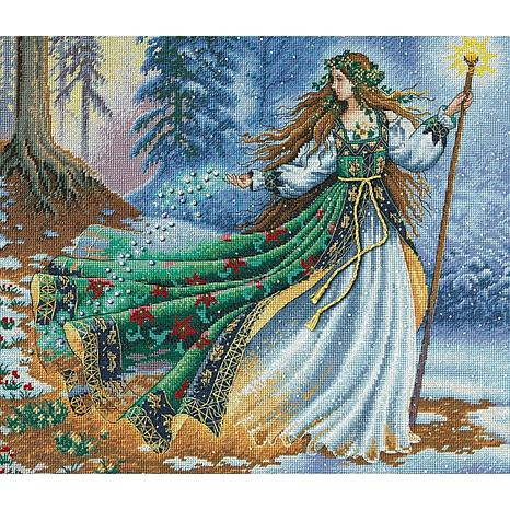 Dimensions Gold Cross Stitch Kit - Woodland Enchantress