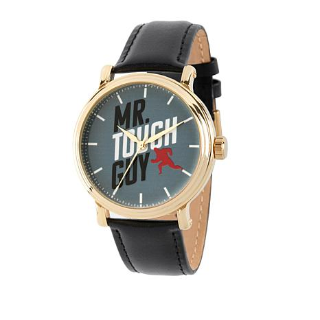 "Disney Incredibles ""Mr. Tough Guy"" Brown Leather Strap Watch"