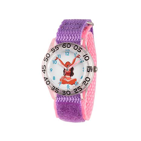 Disney Moana Pink and Purple Strap Kid's Watch