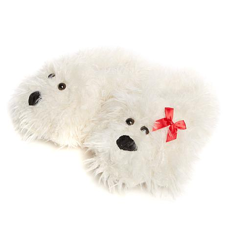 Do Everything In Love Shaggy Dog Slippers