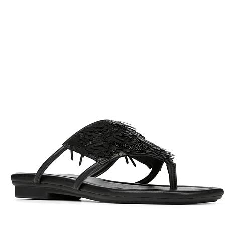 fc5f781b042e94 Donald J. Pliner Kya Leather or Suede Comfort Thong Sandal - 8651603 ...