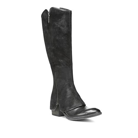 1ecb2e913 Donald J. Pliner Pliner Devi5 Tall Boot with Chap Detail - 8825258 | HSN