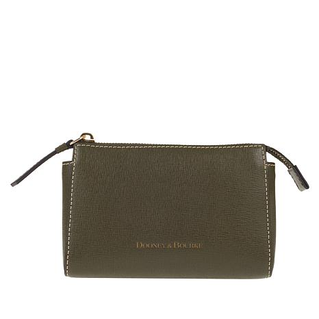 Dooney & Bourke Saffiano Leather Cosmetic Pouch