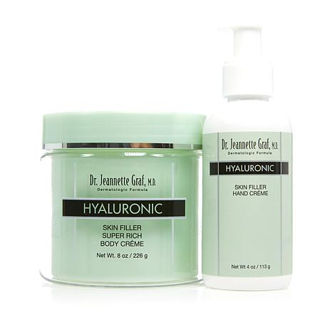 Dr. J. Graf M.D. Hyaluronic Skin Filler Hand and Body Creme Duo