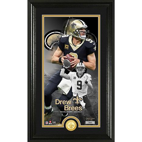Drew Brees Supreme Bronze Coin Photo Mint