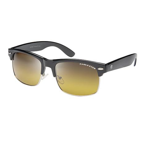 Eagle Eyes Park Street Black TriLenium Polarized Sunglasses