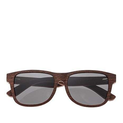 Earth Wood Goods Solana Red Rosewood Wood Sunglasses