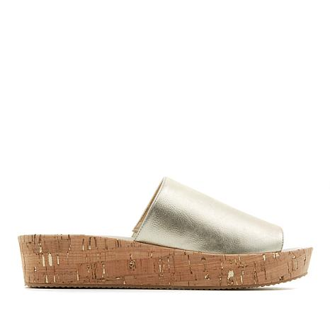 easy spirit Jade Slip-On Platform Wedge Sandal