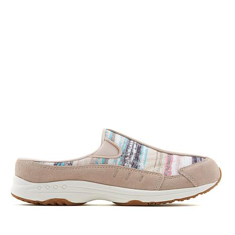 easy spirit Traveltime Leather Sport Clog - Striped