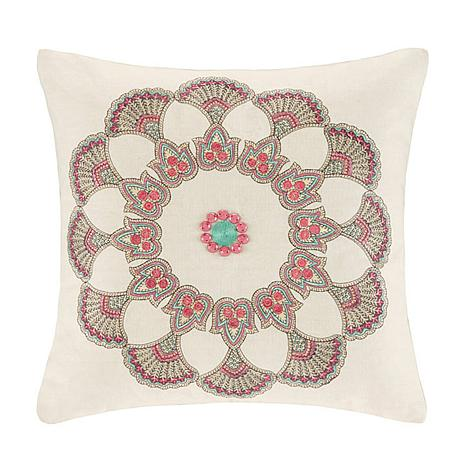 "Echo Guinevere 16"" Square Decorative Pillow"