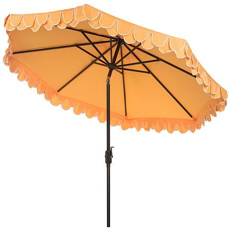 ... Elegant Valance 9u0027 Patio Umbrella ...