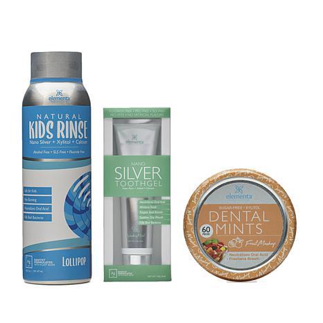 Elementa Silver Kids Oral Care Kit 1