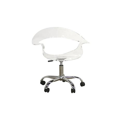 Elia Acrylic Swivel Chair