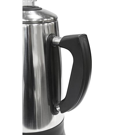 Elite Platinum Stainless Steel 12-Cup Percolator