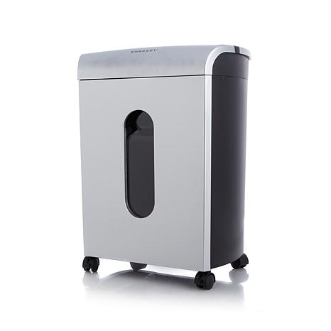 Embassy 10-Sheet Paper Shredder with Lubricant Sheet
